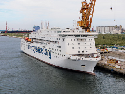 Mercy Ships uses SES Networks' Maritime solution to bring healthcare to world's deprived regions