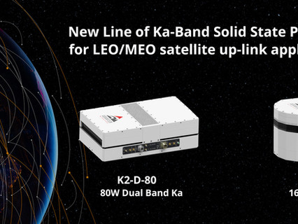 Advantech Wireless Technologies release line of Ka-band SSPAs and BUCs for LEO/MEO satellite up-link