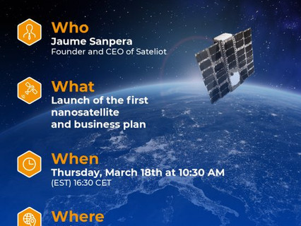 Sateliot details business plan ahead of launch of first nanosatellite in its IoT-5G constellation