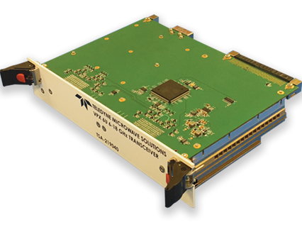 At AOC 2019, Teledyne unveils a new VPX transceiver that delivers the fastest tuning available in th
