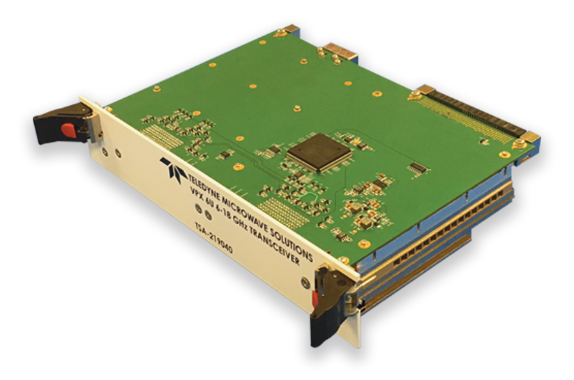 At AOC 2019, Teledyne unveils a new VPX transceiver that delivers the fastest tuning available in the industry