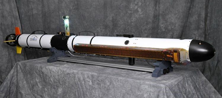 "The Northrop Grumman µSASTM (pronounced ""micro-sas"") mounted on a L3Harris UUV"