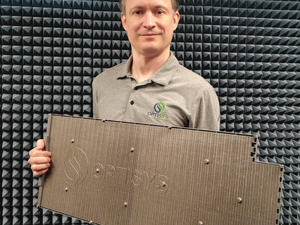 Optisys produces world's largest monolithic 3D printed antenna