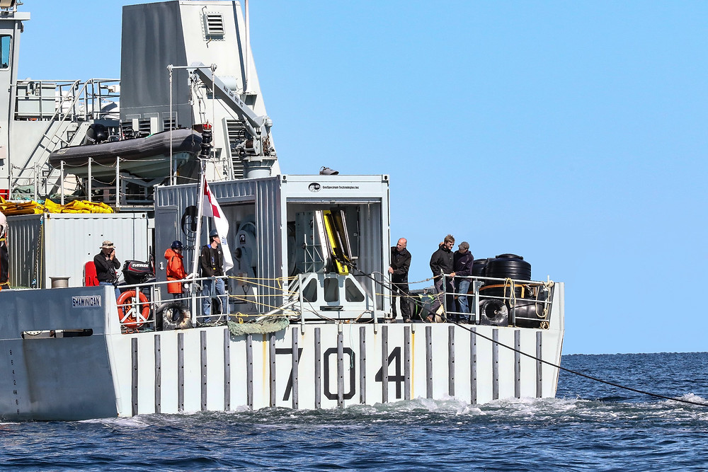 Elbit Systems Canadian subsidiary completes tests of a second sonar system with the Royal Canadian Navy