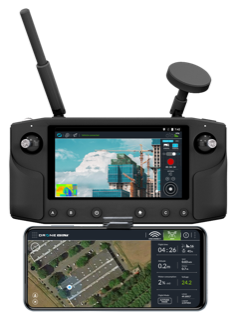 DV CONTROL, a new intuitive and  efficient app for drone piloting