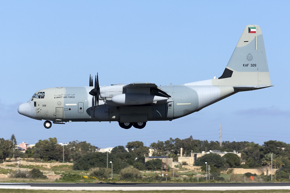 KC-130J tanker aircraft