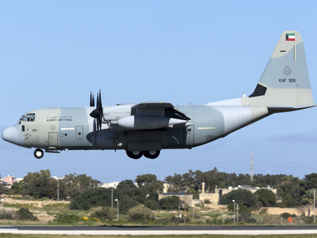 Marshall signs contract with U.S. Government for Kuwait Air Force KC-130J