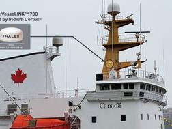Iridium announces partnership with Canadian Coast Guard