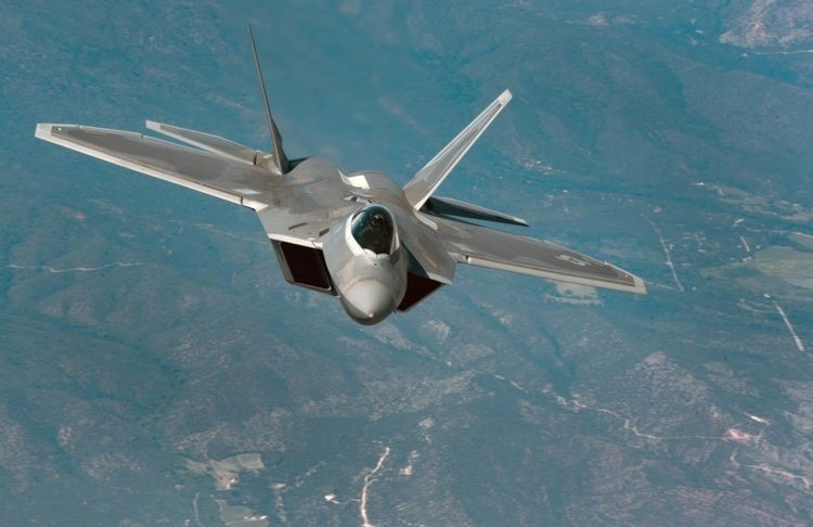 The F-22 is one of the lead platforms for EGI-M integration. (U.S. Air Force Photo/Staff Sgt. Carlin Leslie)