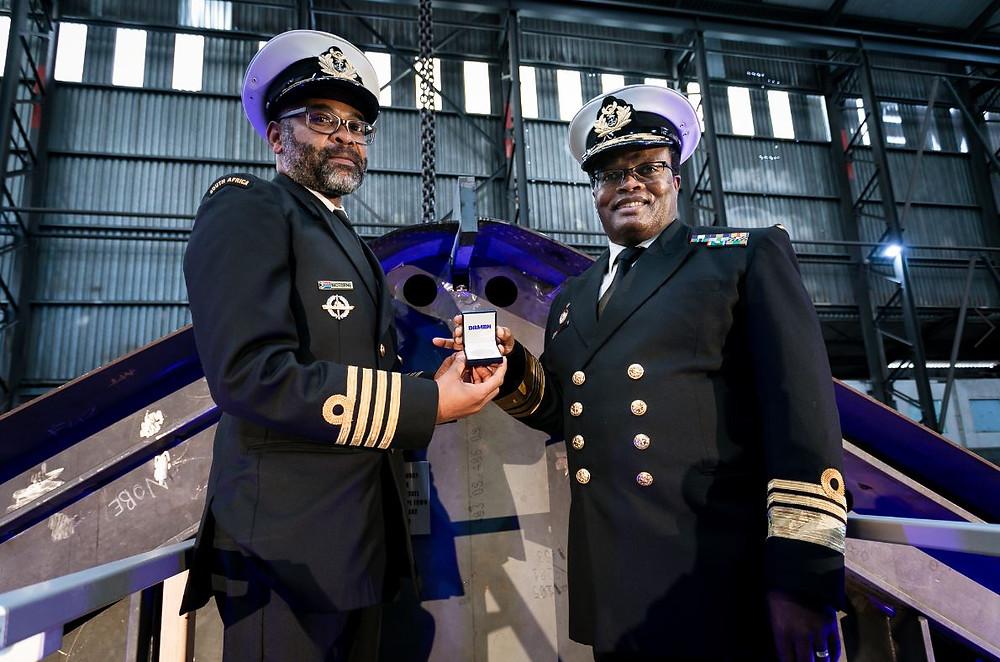 Damen Shipyards Cape Town lays keel on second Project BIRO IPV