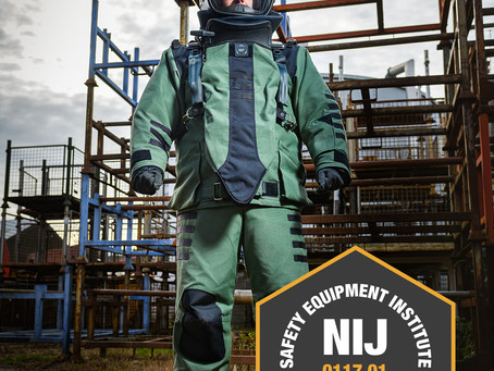 NP Aerospace awarded NIJ Certification for new 4030 ELITE Bomb Disposal Suit