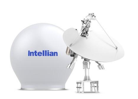Intellian's next-generation v240MT Gen-II tri-band antenna