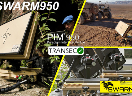 Paradigm's SWARM950 approved for use on Inmarsat with ST Engineering iDirect 950mp