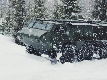 Patria's 6x6 platform chosen as part of a joint Finnish-Latvian vehicle development programme