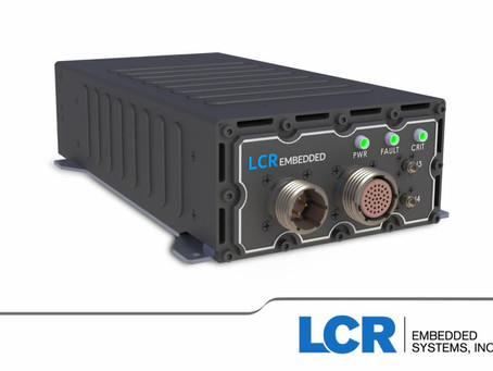 Single slot VPX packaging from LCR for sensor and high-speed computing applications