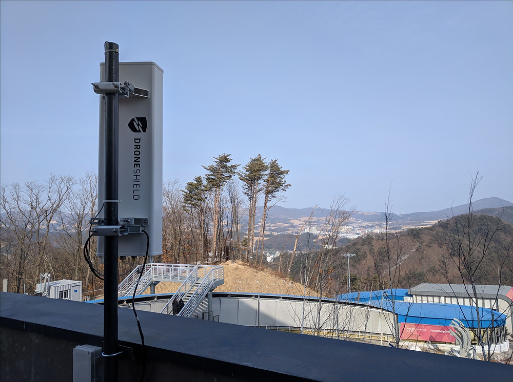 DroneShield deployed at the 2018 Olympics in South Korea