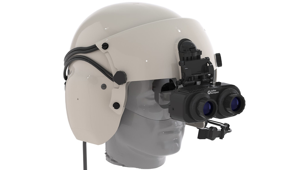 Enhanced Visual Accuity is a digital day/night vision solution that will integrate a helmet-mounted binocular display to provide wider, higher-resolution imagery and improved night vision performance at Very-Low-Light-Levels