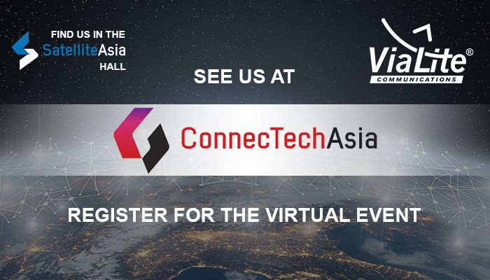 CommunicAsia's state-of-the-art platform to host virtual ViaLite stand