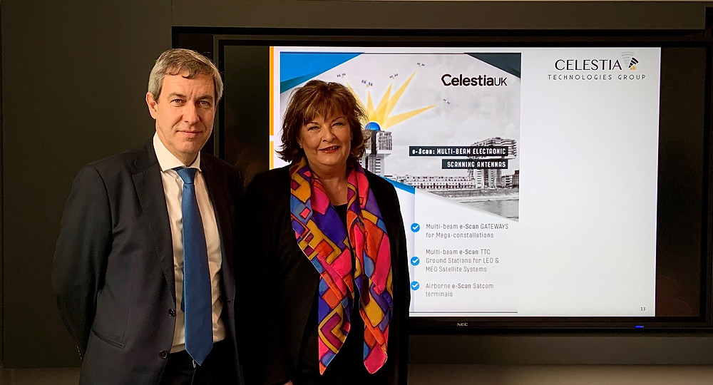Celestia UK to develop advanced antenna systems with Scottish Enterprise Support