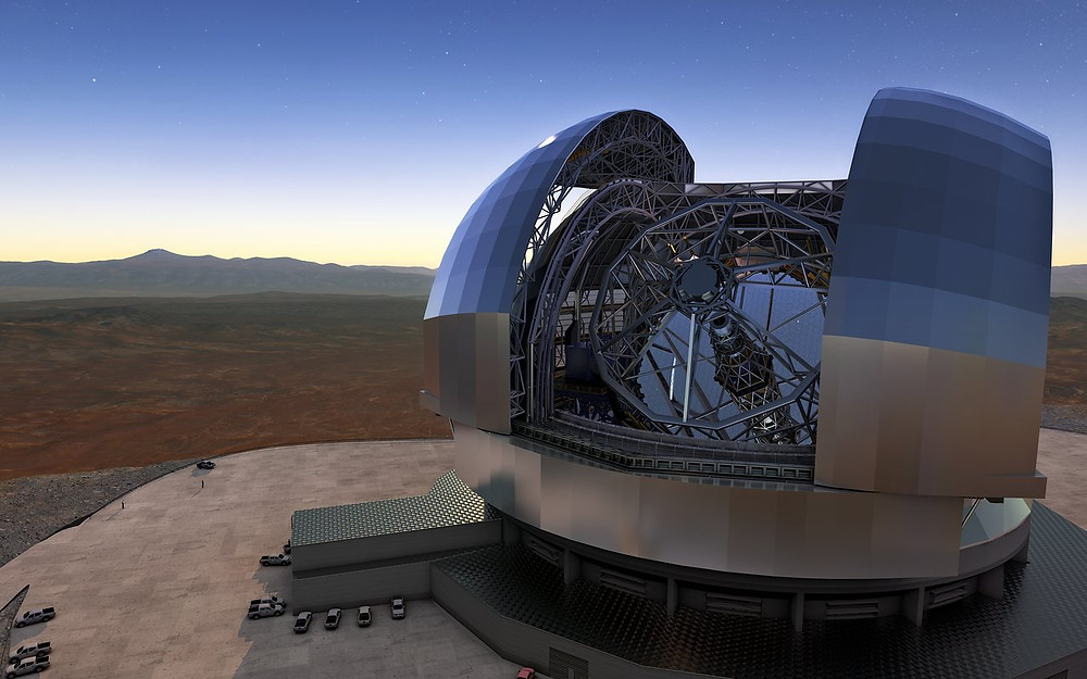 BUMAX screws hold world's largest telescope together