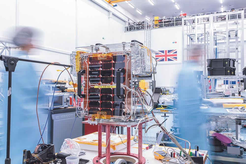 SSTL's 18kg DoT-1 satellite
