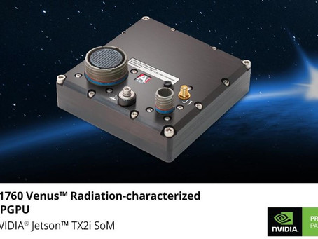 Aitech's S-A1760 Venus™ brings NVIDIA-based AI supercomputing to next generation space applications