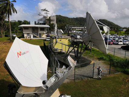 Marlink has completed delivery of internet access for remote villages throughout French Guiana
