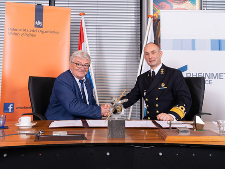 Rheinmetall to serve as the Dutch armed forces' chief supplier for another decade
