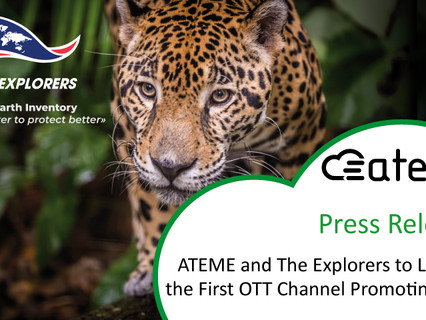ATEME and The Explorers to launch the first OTT channel promoting VVC