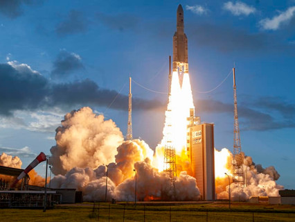 Successful launch of EUTELSAT QUANTUM, the first full software-defined satellite