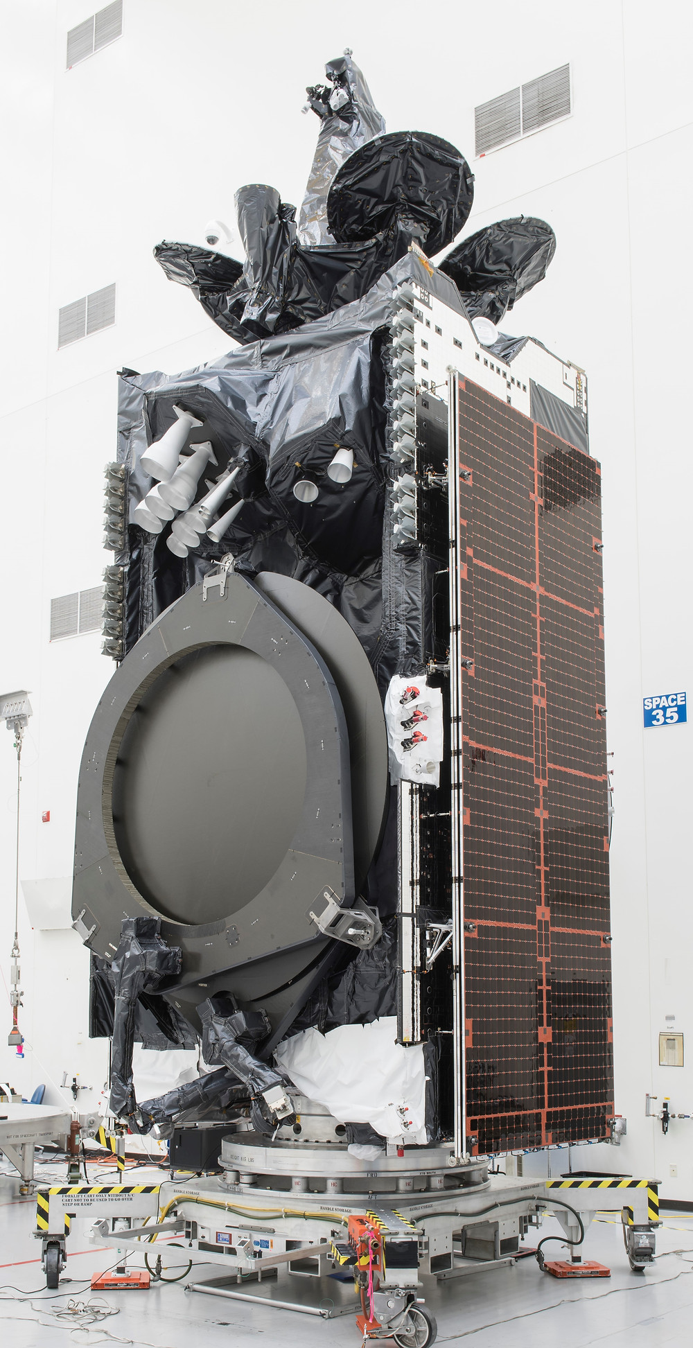 Spacecom completing final AMOS-17 Satellite pre-launch preparations
