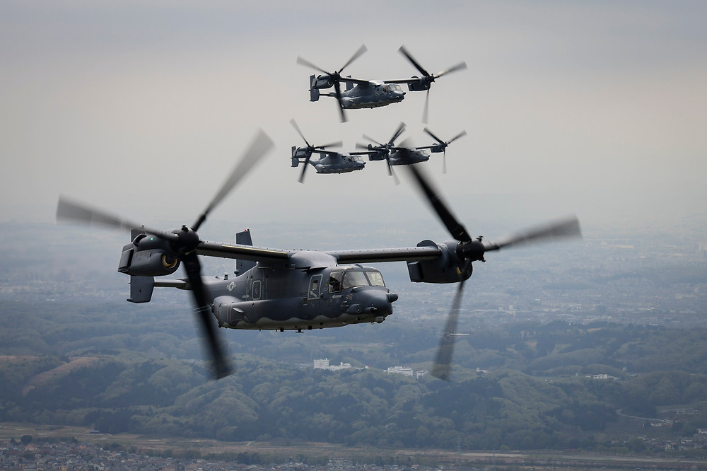 Elbit Systems' U.S. subsidiary awarded contract to supply components for the color HMD system of the CV-22 Aircraft