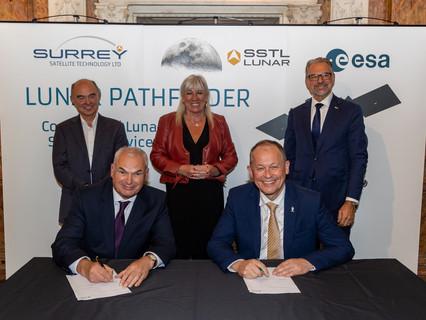 SSTL signs up ESA as anchor customer for Lunar Pathfinder
