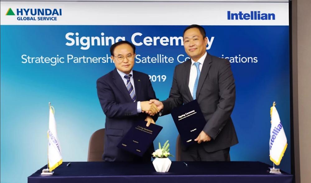 Hyundai Global Service and Intellian sign strategic partnership in satellite communications