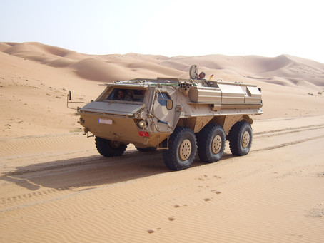 "The ""Fuchs"" success story goes on: Major contract for Rheinmetall"