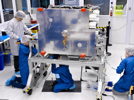 Astranis begins assembly of Alaska satellite after successful test of software-defined radio payload