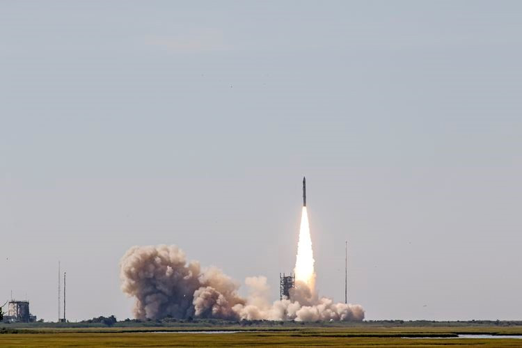 Northrop Grumman successfully launched its Minotaur IV Rocket into orbit this morning, at 9:46 a.m. ET