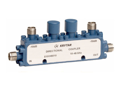 KRYTAR announces new dual directional coupler with 10 dB coupling over 10 to 46 GHz frequency range