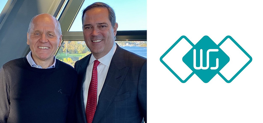 Sigve Brekke, President and CEO Telenor and Chuck Robbins, Chairman and CEO, Cisco