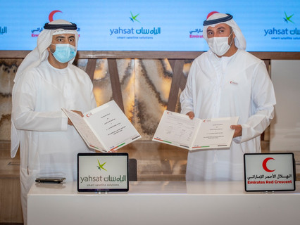 Emirates Red Crescent fortifies remote learning and humanitarian efforts with Yahsat's satellites