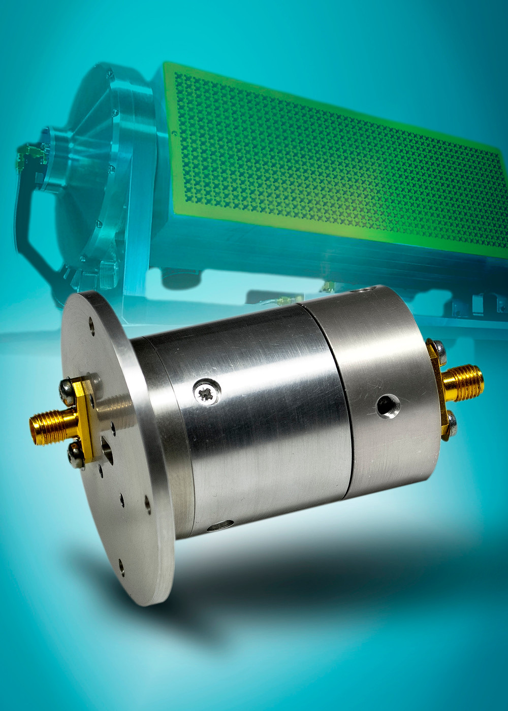 Link Microtek microwave rotary joint is key element of new Ka-band satcom-on-the-move antenna system from ADS International