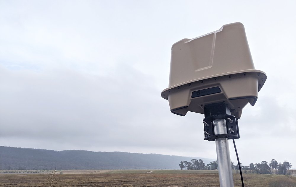 DroneShield's RfZeroTM ground or vehicle-mounted drone detection units