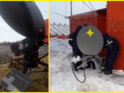 Paradigm's PIM-Enabled Terminals Provide High Performance Connectivity in Antarctica
