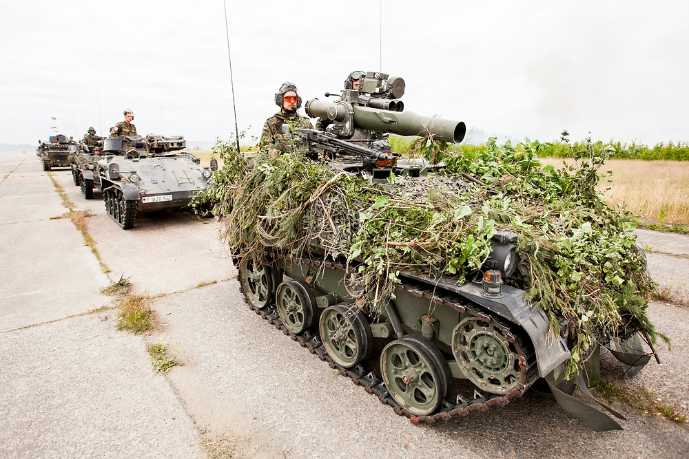 NP Aerospace to supply vehicle armour for German Army's WIESEL platform