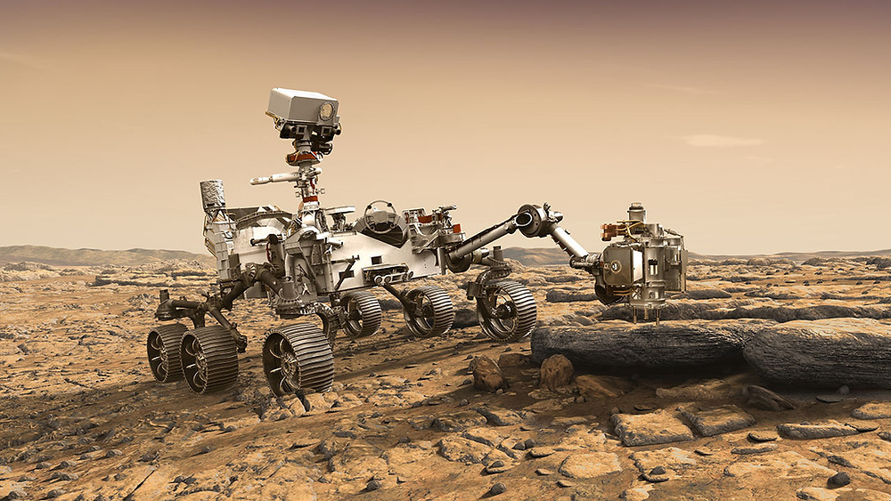 Carrying on our rich heritage of contributions to NASA missions, General Dynamics Mission Systems will provide significant equipment for the space agency's next voyage to Mars with the launch of the Mars 2020 Perseverance rover. (Image Credit: NASA/JPL-Caltech)