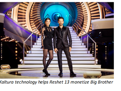 Leading Israeli broadcaster Reshet 13 selects Kaltura to power D2C streaming service
