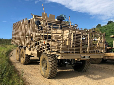 NP Aerospace re-engineers British Army Ridgback and Mastiff vehicles for deployment in Mali