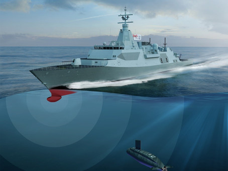 Ultra awarded Canadian surface combatant subcontract to provide hull-mounted sonar
