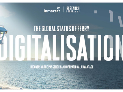 Global ferry digitisation report confirms huge transformation opportunities for operators