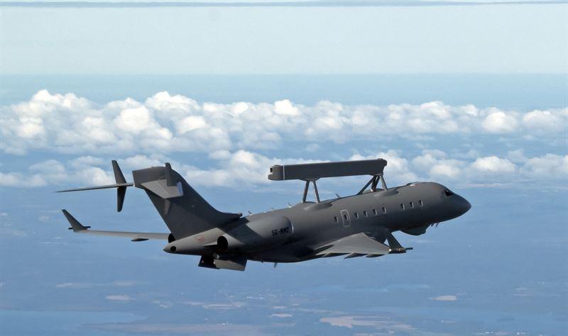 GlobalEye Swing Role Surveillance System aircraft